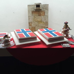 Celebrating Norways National Day in Colombia.